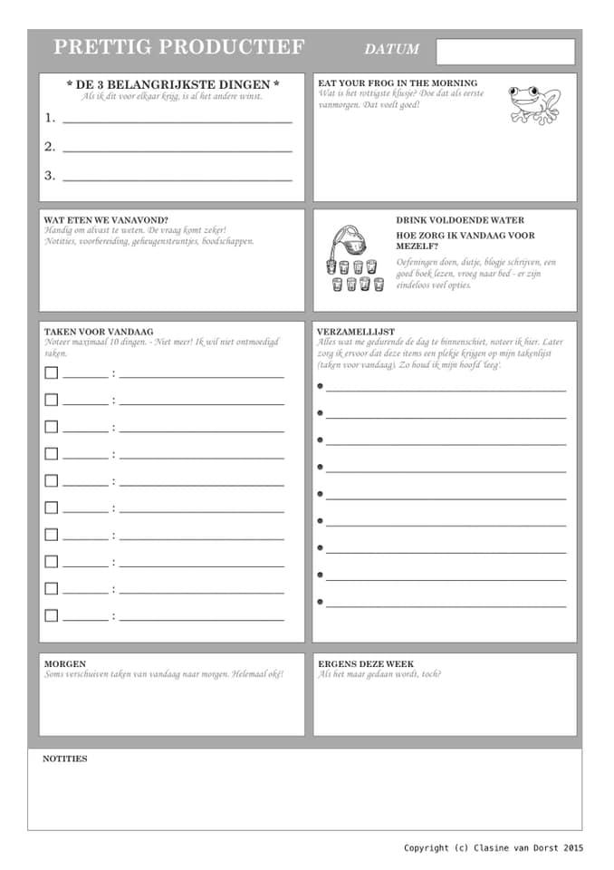 Met de docentenplanner op deze afbeelding kunnen docenten en leraren hun werk makkelijker plannen en organiseren.